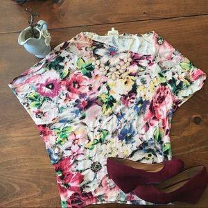 Floral Anthropologie Deletta Shirt